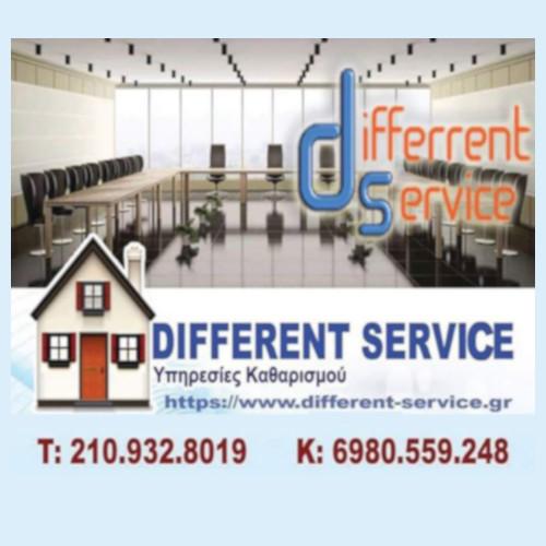 differrent service